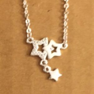 Jewelry - Sweet sterling silver stars necklace